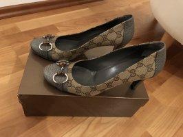 Gucci Protège-orteil argenté-bleuet