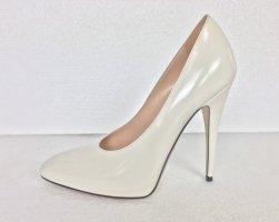 Gucci, Pumps, Leder, White Magnolia, 38,5, neu, € 750,-