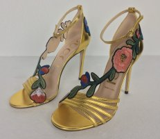 Gucci, Pumps, Oro, Silk Nappa, 39, neu, € 750,-