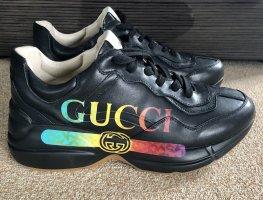 Gucci Heel Sneakers black