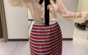 Gucci Plaid Skirt multicolored