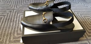 Gucci Outdoor Sandals black leather