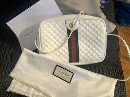 Gucci Sac porté épaule blanc-crème cuir