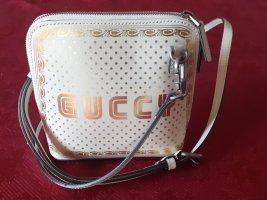 Gucci Handbag white-gold-colored leather