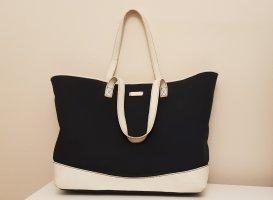 Gucci Borsa shopper bianco-nero