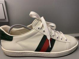 Gucci Zapatilla brogue multicolor Cuero