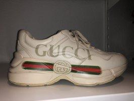 Gucci Sneaker stringata beige chiaro