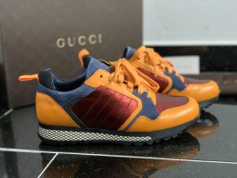 Gucci Sneakers orange rot blau Gr. 36,5