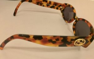 Gucci Occhiale da sole ovale multicolore