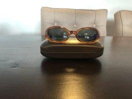 Gucci Gafas de sol ovaladas coñac