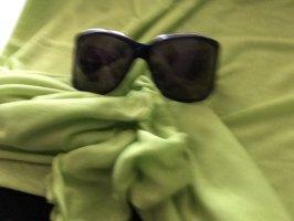 Gucci Owalne okulary przeciwsłoneczne czarny-kremowy