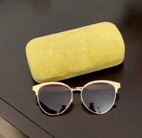 Gucci Butterfly Glasses sand brown
