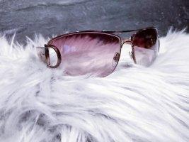 Gucci Gafas de piloto color rosa dorado-color bronce