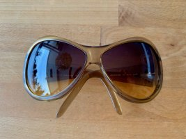 Gucci Glasses light brown polyacrylic