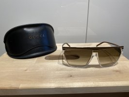 Gucci Angular Shaped Sunglasses light brown-taupe