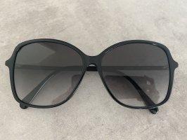 Gucci Occhiale da sole rotondo nero
