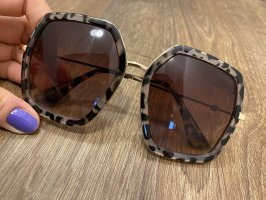 Gucci Angular Shaped Sunglasses multicolored