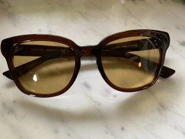Gucci-Sonnenbrille in braun