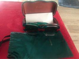 Gucci Gafas rojo-verde bosque