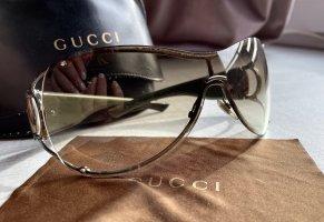 Gucci Butterfly bril oker-olijfgroen
