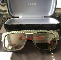 Gucci Hoekige zonnebril veelkleurig Acetaat