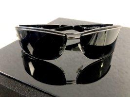 Gucci Gafas de sol cuadradas negro-color plata
