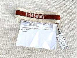 Gucci Cache-oreilles rouge foncé-crème