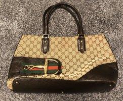 Gucci Handtas bruin-donkerbruin