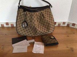 Gucci Tasche mit Geldbeutel und Rechnung