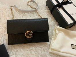 Gucci Tasche schwarz  Interlocking Crossbody/Clutch