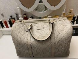 Gucci Bowling Bag light grey