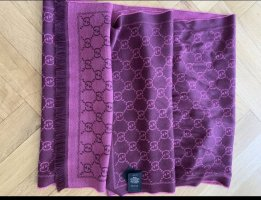 Gucci Woolen Scarf blackberry-red-purple