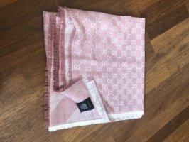 Gucci Pashmina color rosa dorado-rosa