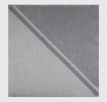 Gucci Écharpe en soie gris-gris clair