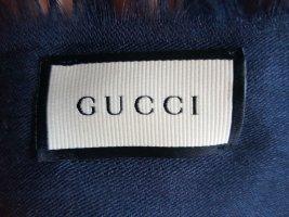 Gucci Pañoleta azul-azul oscuro Seda