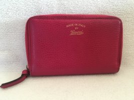 Gucci Portefeuille rouge cuir