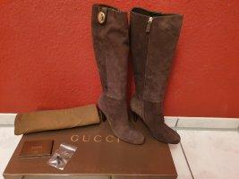 Gucci Heel Boots brown