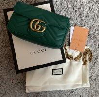 Gucci Mini sac vert gazon-doré