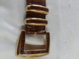 Waist Belt cognac-coloured