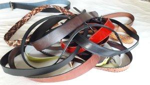 Cinturón de cadera multicolor Cuero