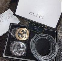 Gucci Hebilla del cinturón negro