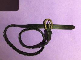 Tommy Hilfiger Cintura intrecciata nero