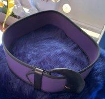 Claudio Orciani Hip Belt black-dark violet