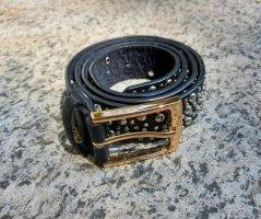 Cintura in ecopelle nero