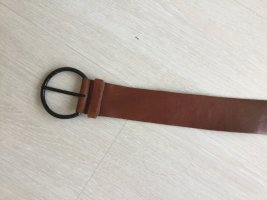 Miu Miu Leather Belt brown