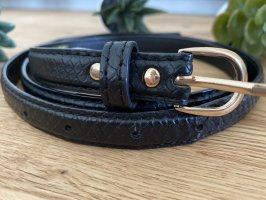 Atmosphere Faux Leather Belt black