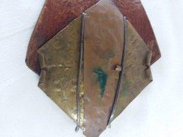 Cintura fianchi marrone Pelle