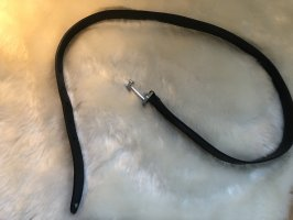 Tommy Hilfiger Cinturón de cuero azul oscuro-azul