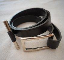 Jones Cintura di pelle nero Pelle