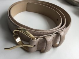 abro Leather Belt cream-beige leather
